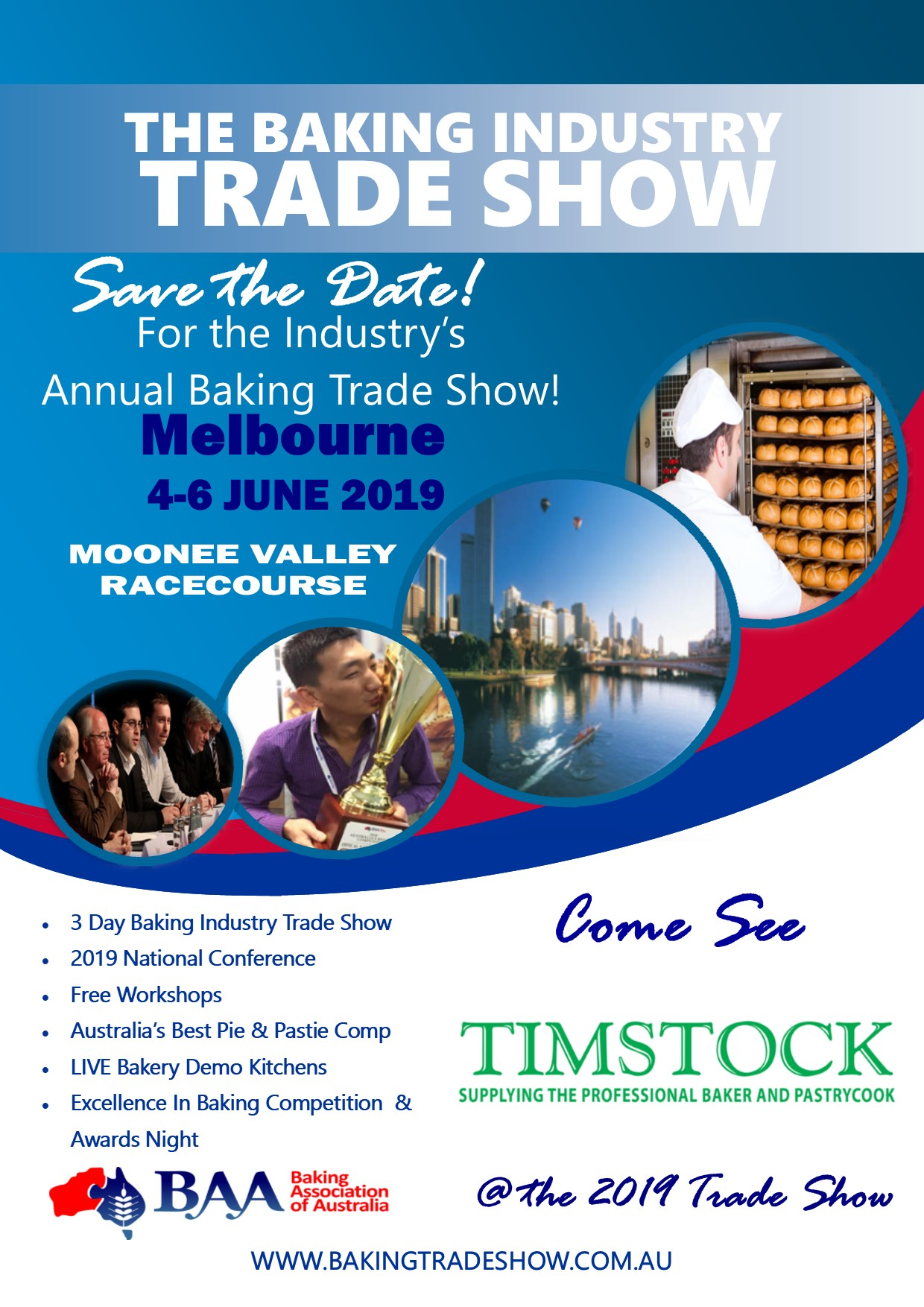 Baking Industry Trade Show 2019 - Timstock